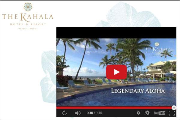 Kahala Hotel banner ad