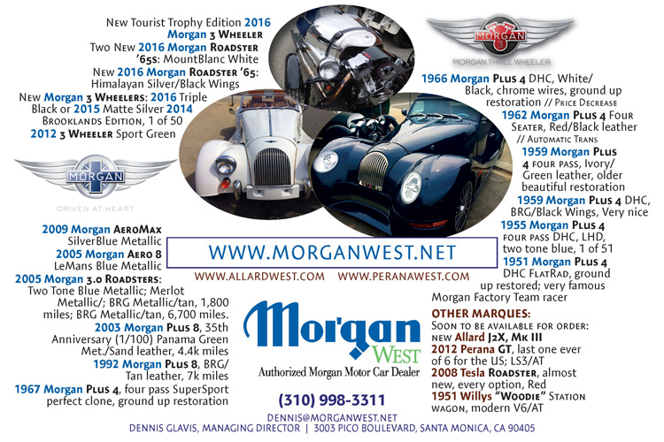 MorganWest advertising